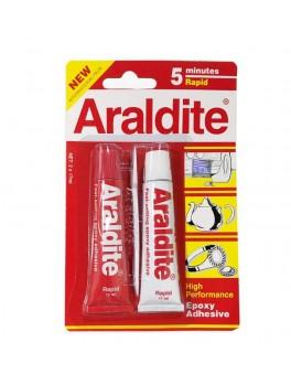 "ARALDITE ""Rapid"" 2-Part Epoxy Adhesive (2 Tubes x 17ml)"
