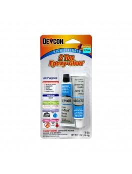 DEVCON S-352-Ton® Epoxy - 1oz /28.40g, (Crystal Clear)