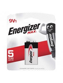 ENERGIZER Alkaline 9V Battery MAX- 1pc/card (522 BP1)
