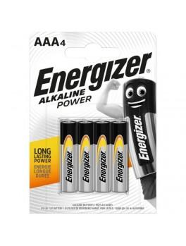 ENERGIZER Alkaline Power AAA Batteries - 4pcs/card (E92)