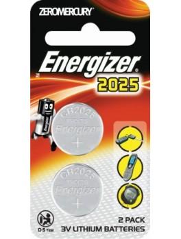 ENERGIZER Lithium Coin 3V Battery- 2pcs/card (ECR2025BP2)
