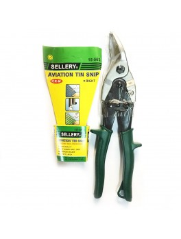 """SELLERY 15-563 Aviation Snip - Right Curve 10"""""""