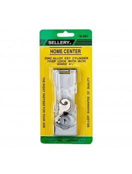 "SELLERY 16-667 Hasp Lock Size- 4.5"""