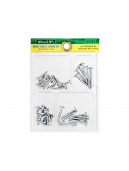 SELLERY 19-001 Sheet Metal Screw Kit