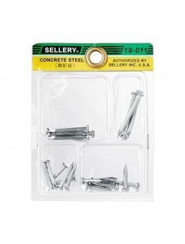 SELLERY 19-011 Steel Nail Set
