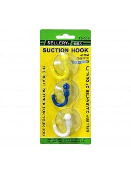SELLERY 19-033 Suction Hooks- 40mm