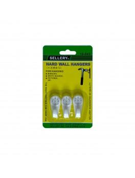 SELLERY 19-043 Hard Wall Hangers- 40mm