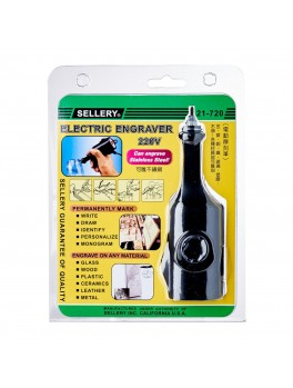SELLERY 21-720 Electric Engraver, 220V 10W 50Hz - Round Plug