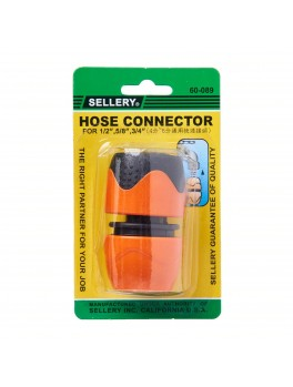 """SELLERY 60-089 Hose Connector for 1/2"""",5/8"""",3/4"""""""