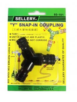 """SELLERY 60-101 """"Y"""" Snap In Coupling"""