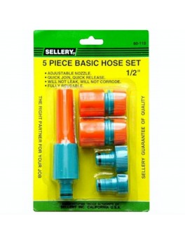 SELLERY 60-110 5 Piece Basic Hose Set