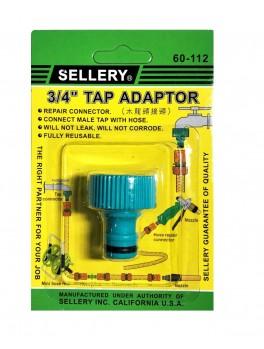 """SELLERY 60-112 Tap Adaptor 3/4"""""""