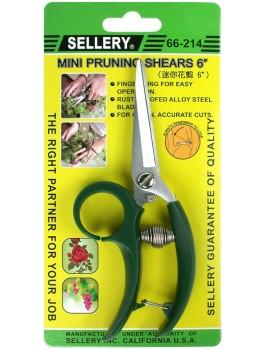 "SELLERY 66-214 Mini Pruning Shears 6"""