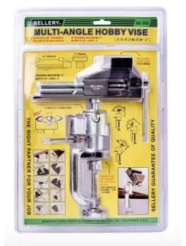 """SELLERY 92-392 Multi-Angle Vise, Max: 4"""" , Jaw: 3"""""""