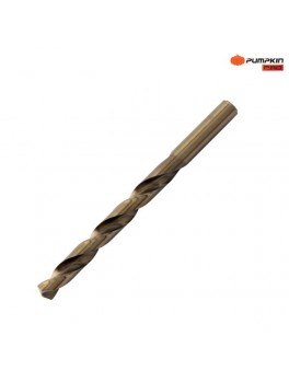 """PUMPKIN 15317 M35 Cobalt HSS Straight Shank Drill Bits - 19/64"""" (7.54mm)"""