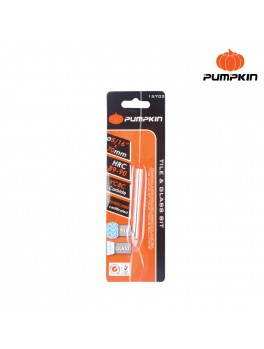 """PUMPKIN 15701 Glass Drill Bits - 1/4""""(6mm)x65mm"""
