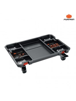 PUMPKIN 20766 Stacking Plastic Tray With Casters