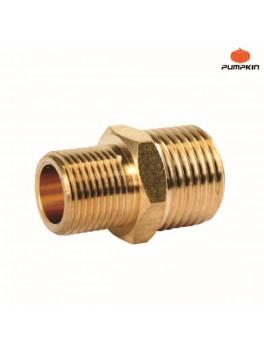 PUMPKIN 31458 Brass M Connector 3/8x1/2