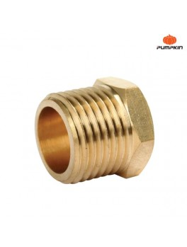 PUMPKIN 31468 Brass Adapting Connector 1/2M-1/4F