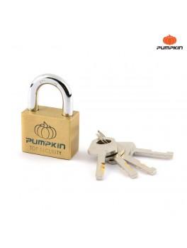 PUMPKIN 39204 Brass Padlock 50mm