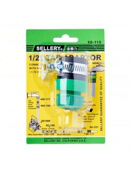 "SELLERY 60-115 Tap Adaptor (for 1/2""-5/8"" OD Hose)"