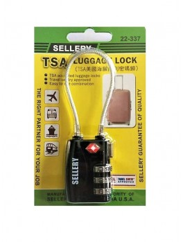 SELLERY 22-337 Travel Sentry® Approved Padlock (Black)