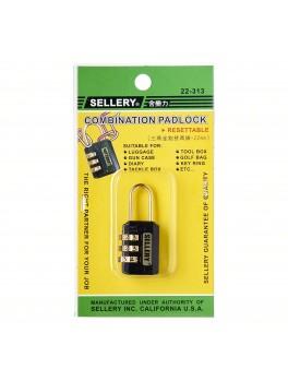 SELLERY 22-313 Combination Padlock 22mm