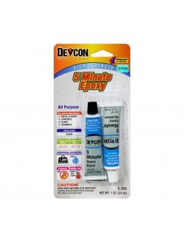DEVCON S-205 5 Minute® Fast Drying Epoxy - 1oz / 28.4g