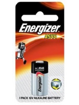 ENERGIZER A544 BS1 Miniature Alkaline Battery, Size:6V (1pc/card)