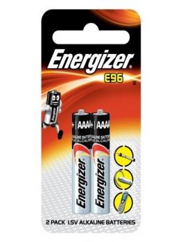 ENERGIZER E96 BP2 Miniature Alkaline Battery, Size:AAAA (2pcs/card)