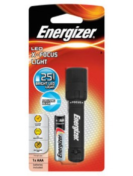 ENERGIZER XFH12 X-Focus LED Flashlight - Personal (Light Colour: White), Battery Use: 1AAA